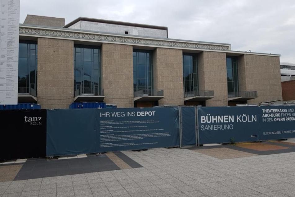 Noch bis 2022 stehen die Baustellenzäune am Offenbachplatz.