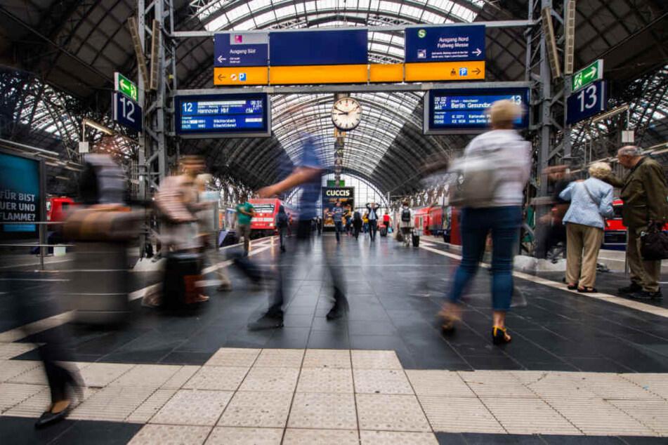 Immer wieder kommt es in Frankfurter Bahnhöfen zu Problemen mit Drogendealern.