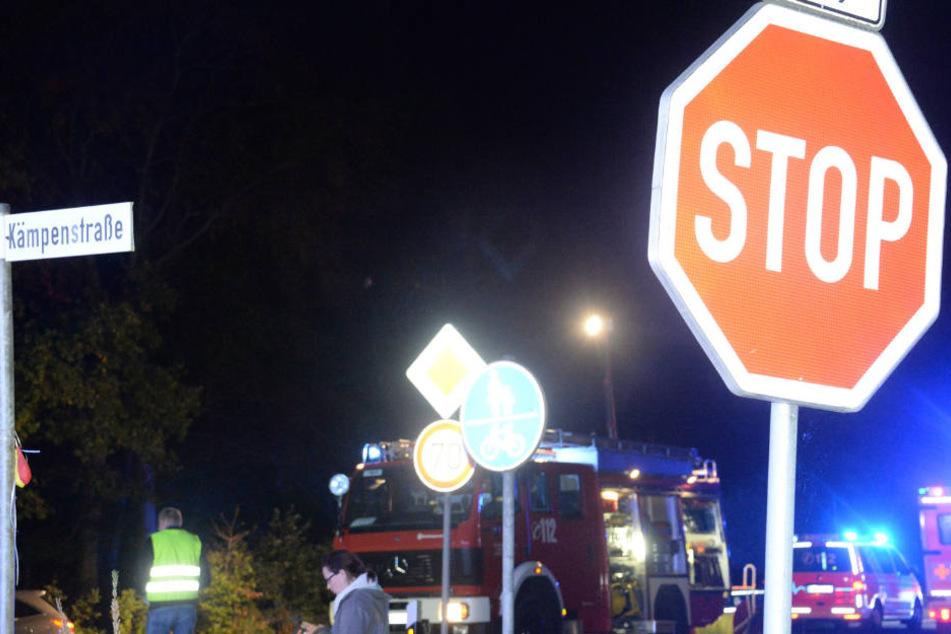 Dieses Stoppschild hatte der junge Fahrer missachtet.