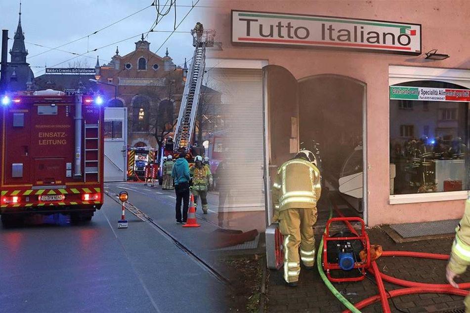 Nach Brand in der Leipziger Straße: Feinkostladen schwer beschädigt