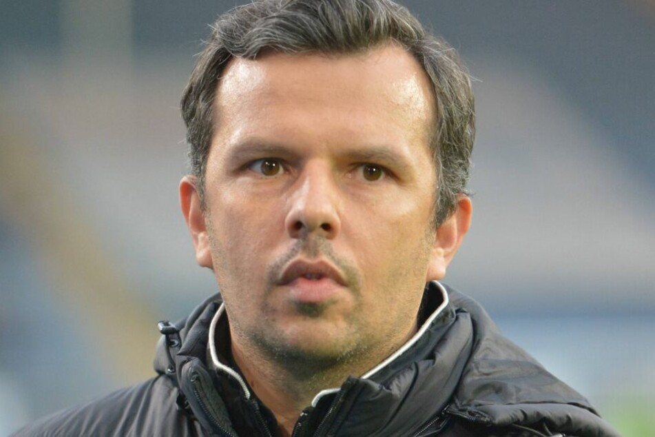 DSC-Manager Samir Arabi hofft, dass Nikolai Rehnen in Aachen viel Spielpraxis erhält.