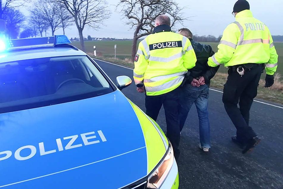 Für den Autodieb endete die Verfolgungsjagd mit der Festnahme.