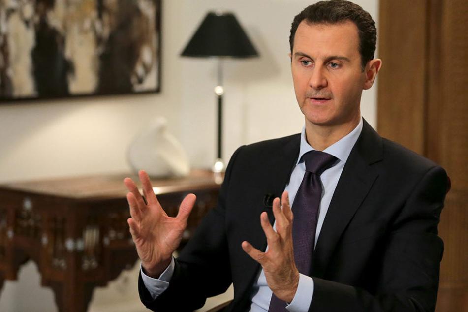 Baschar Al-Assad ist seit 2000 Staatspräsident Syriens und höchst umstritten in seiner Funktion.