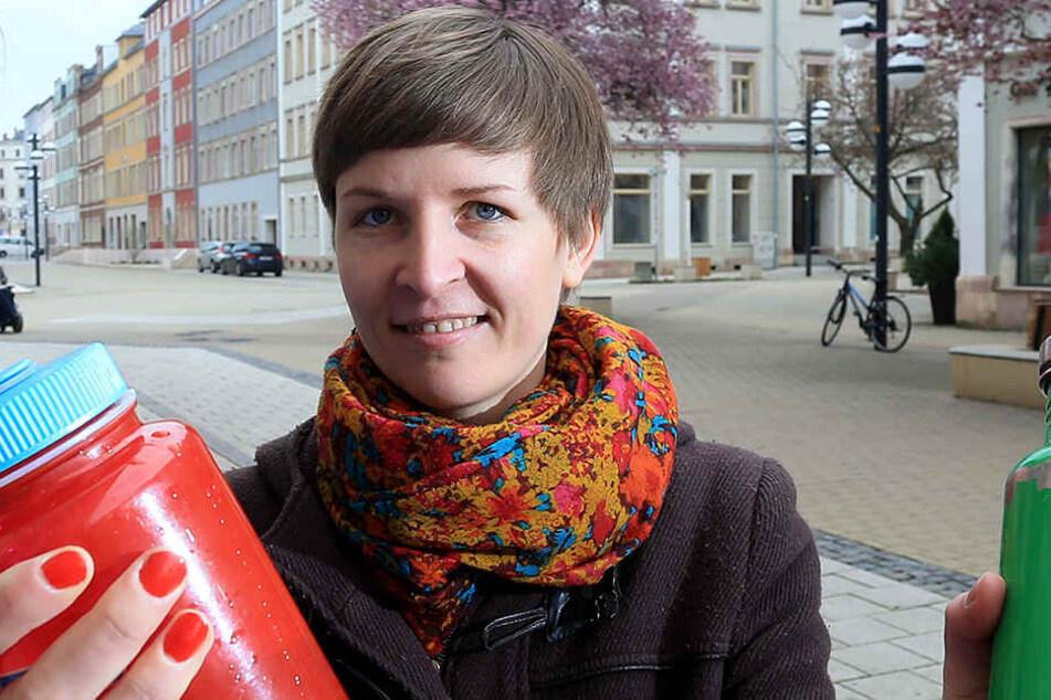 Grünen-Sprecherin Susann Mäder (35).