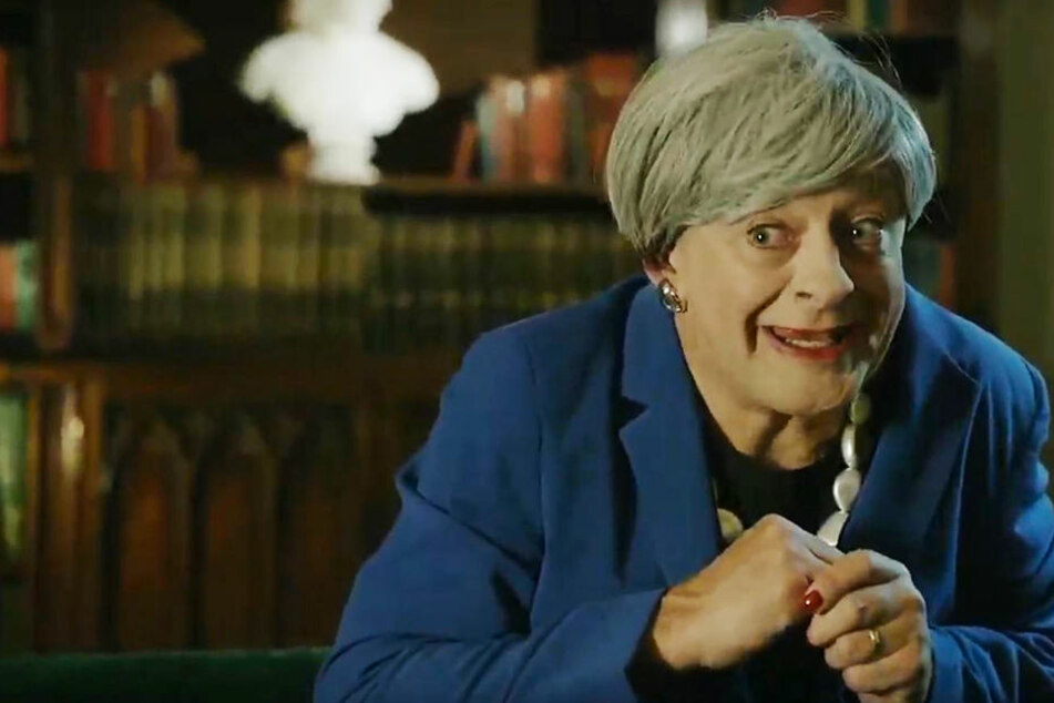 Andy Serkis als Theresa May: Unglaublich witzig!