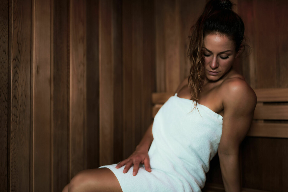 Der Gang in die Sauna ist zwar sehr gesund, hilft aber nur bedingt beim Abnehmen.