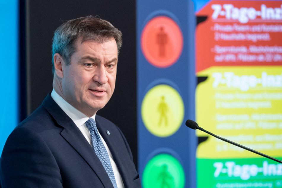 """Will einen zweiten """"Lockdown"""" in Bayern verhindern: Ministerpräsident Markus Söder."""