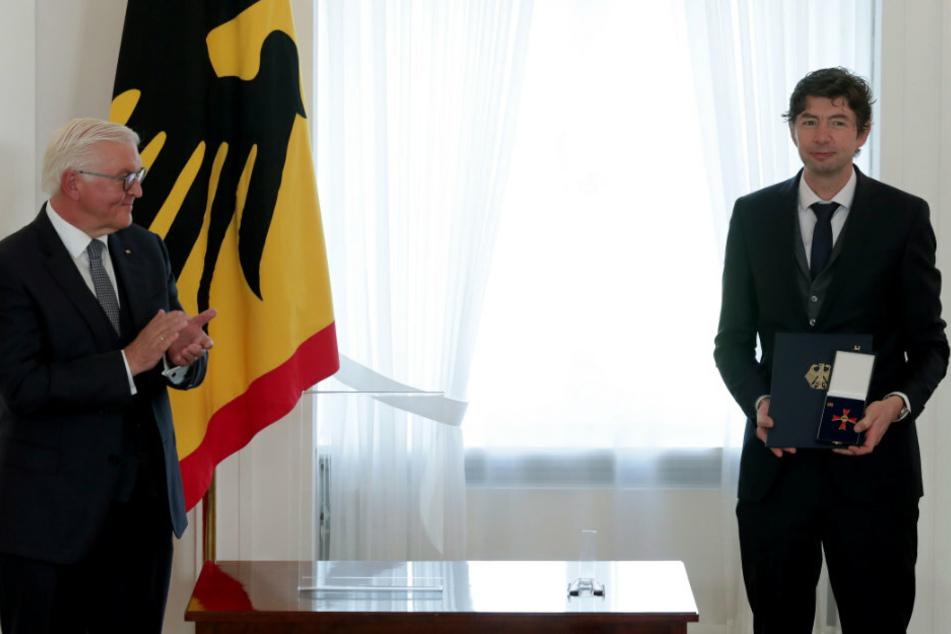 Bundesverdienstkreuze für Virologe Drosten, Pianist Levit und Schriftsteller Schulze