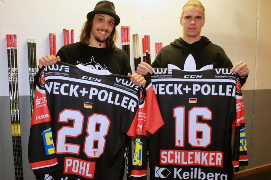 Die Verträge von Patrick Pohl und Vincent Schlenker wurden um zwei Jahre verlängert.