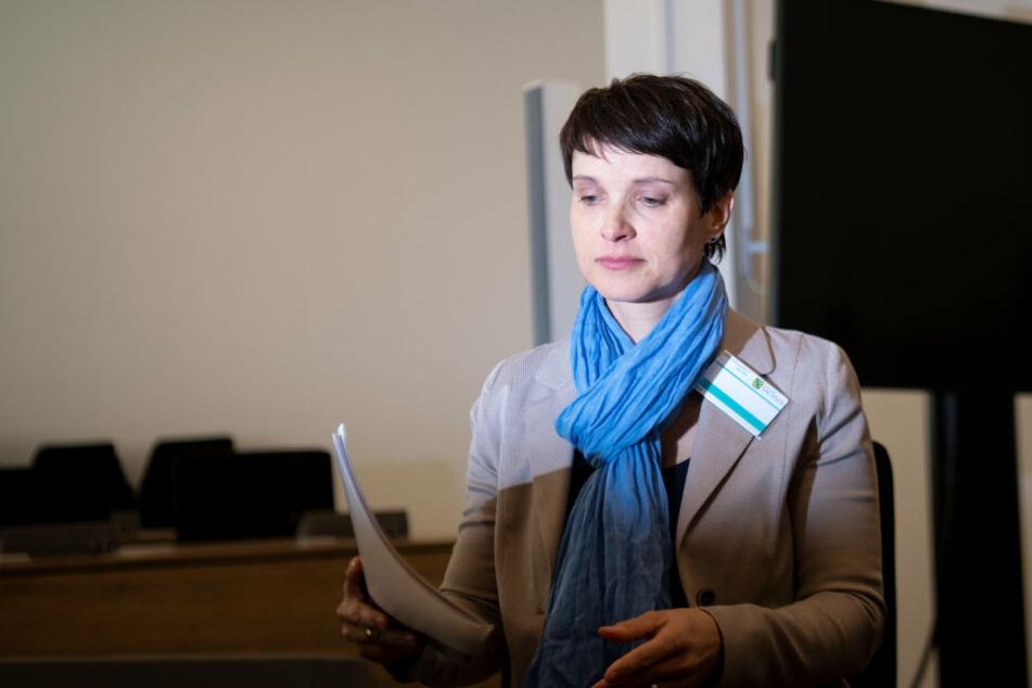 Staatsanwaltschaft fordert Geldstrafe für Ex-AfD-Chefin Frauke Petry