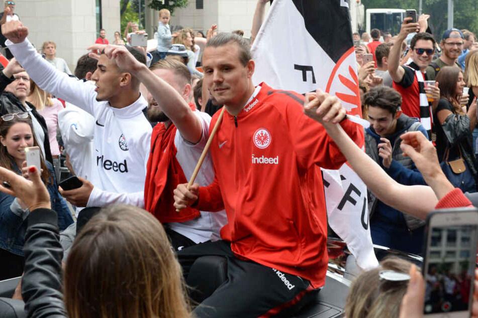 Mit der Eintracht holte Meier vor knapp drei Wochen den DFB-Pokal.