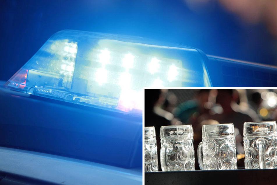 In Brüssel mussten Polizisten ausrücken, um ihren betrunkenen Kollegen Einhalt zu gebieten.