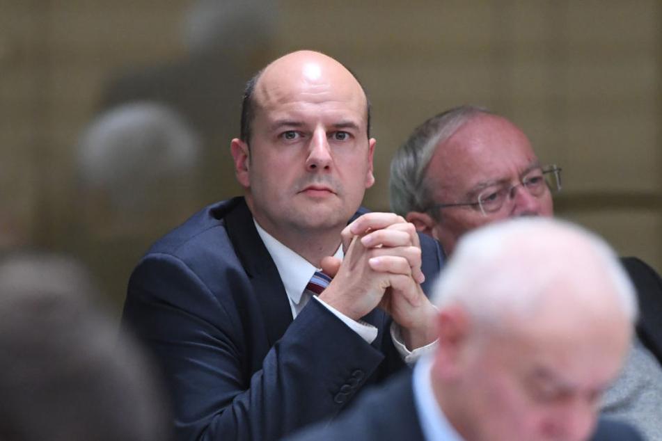 Stefan Räpple (AfD) ist Abgeordneter des Landtags in Baden-Württemberg.