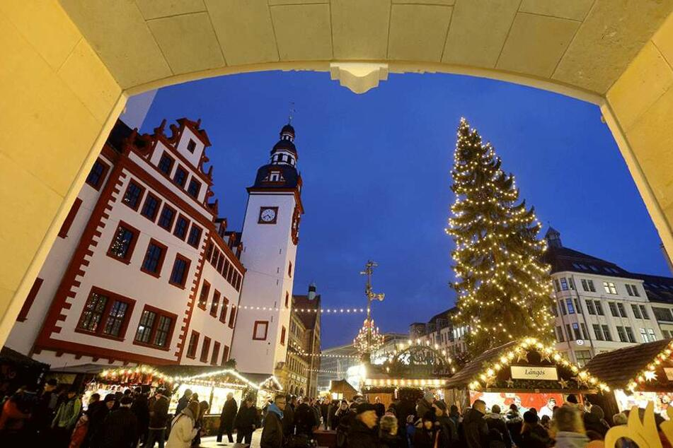 Ein friedliches Fest: Die Polizei stellte auf dem Weihnachtsmarkt (bisher) nur neun Straftaten fest.