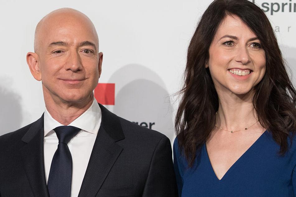Jeff und MacKenzie Bezos lassen sich scheiden.
