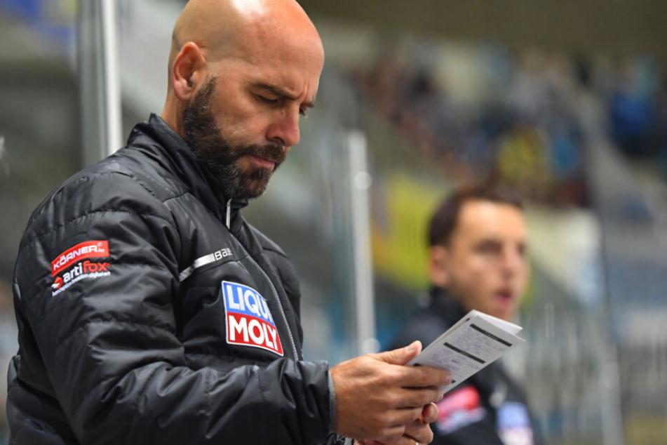 Eislöwen-Coach Rico Rossi hat einen langen Wunschzettel geschrieben. Mal sehen, ob ihm alles erfüllt wird.