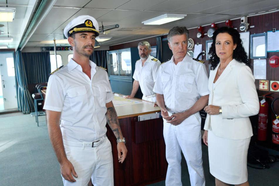 Ein Teil der Crew vom Traumschiff.