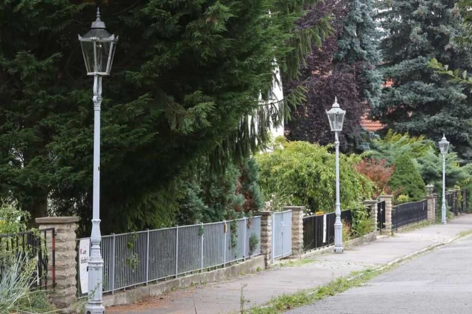 Per Petition wollen Anwohner in Striesen die Gaslaternen erhalten