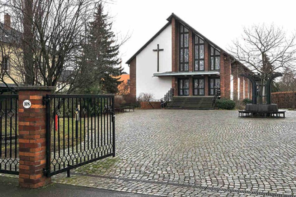 """Die katholische Pfarrei """"Heilige Familie"""", hier war der Angeklagte aktives Mitglied."""