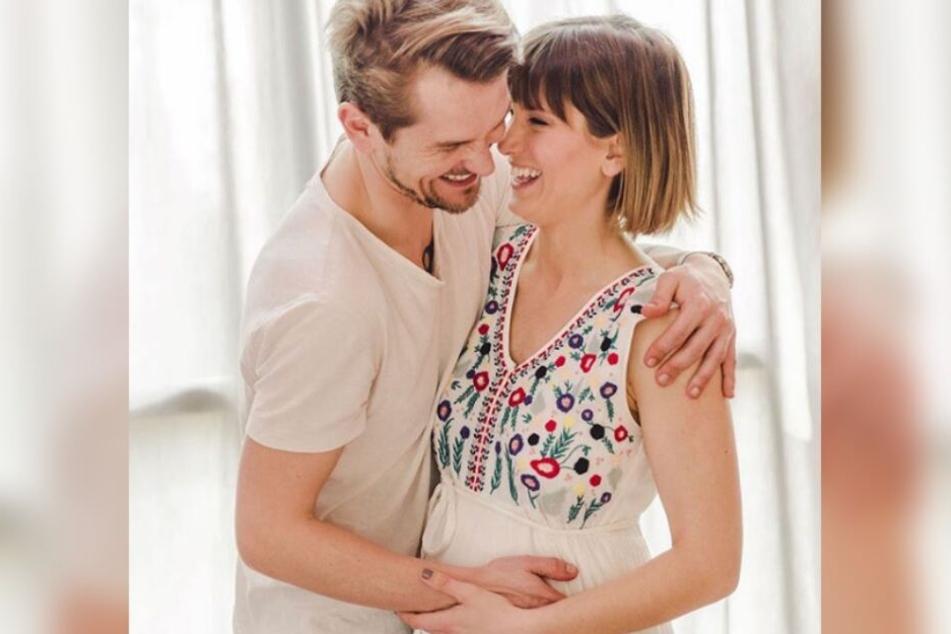 Der Name steht noch nicht fest: Isabell Horn und Jens Ackermann erwarten ihr zweites Kind.
