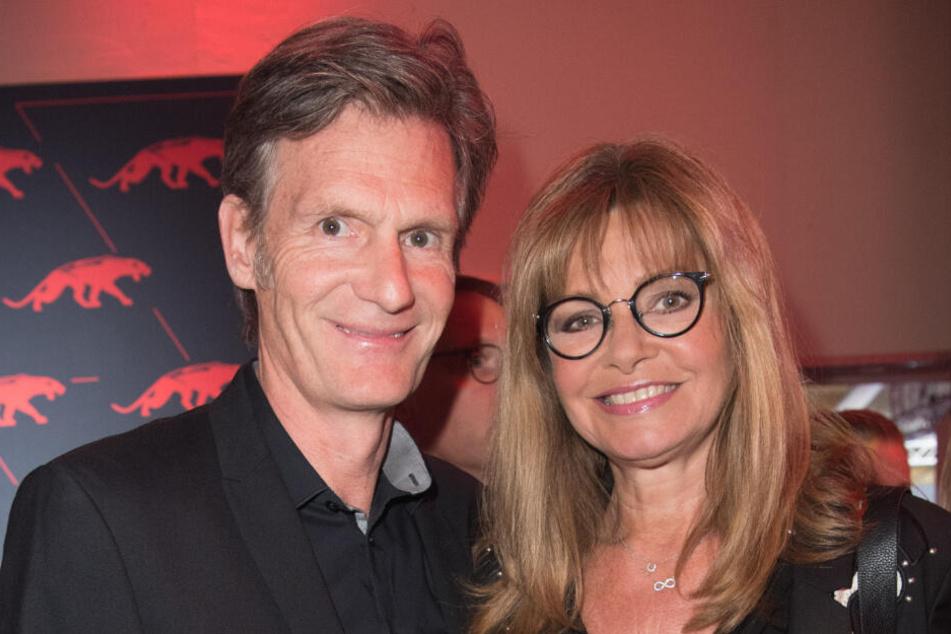 """Maren Gilzer und Harry Kuhlmann bei der Verleihung des """"New Faces Award""""."""