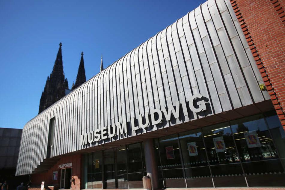 Das Museum Ludwig am Kölner Dom.