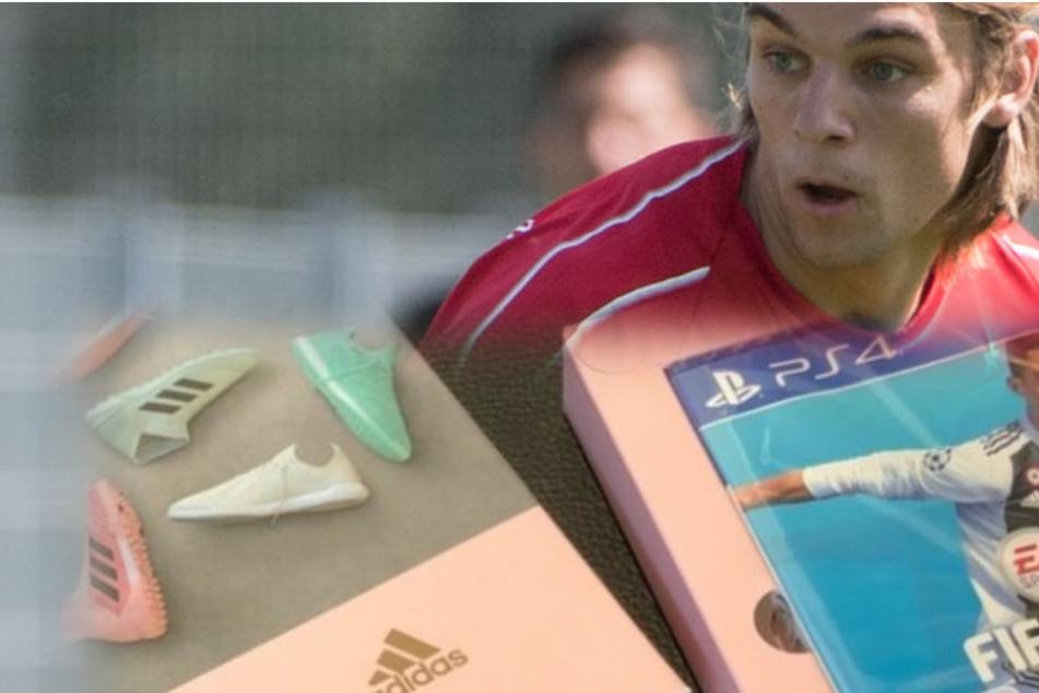 So stark reagiert Sosa auf die Aufforderung zur Schleichwerbung von EA und Adidas. (Fotomontage)