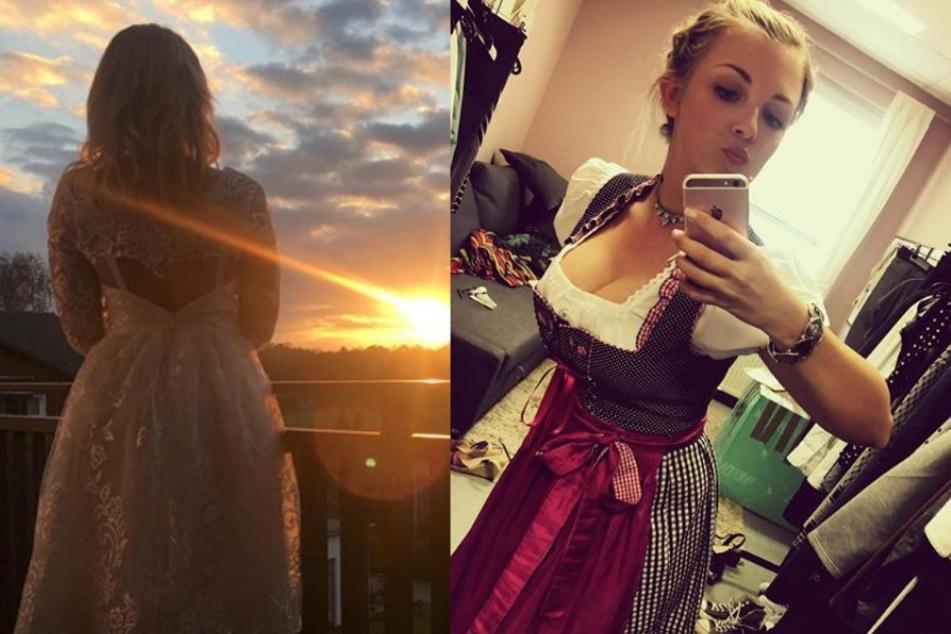 Nanu! Warum trägt GZSZ-Darstellerin Iris Mareike Steen (26) ihre Dirndl-Schleife denn auf der linken Seite?