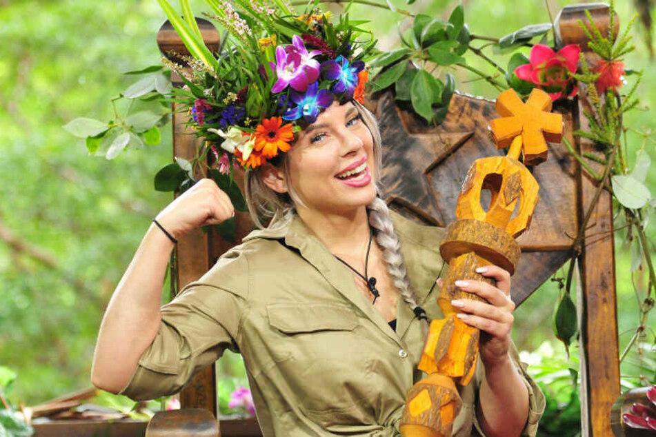 """Jenny Frankhauser wurde 2018 bei der RTL-Show """"Ich bin ein Star - Holt mich hier raus!"""" Dschungelkönigin."""
