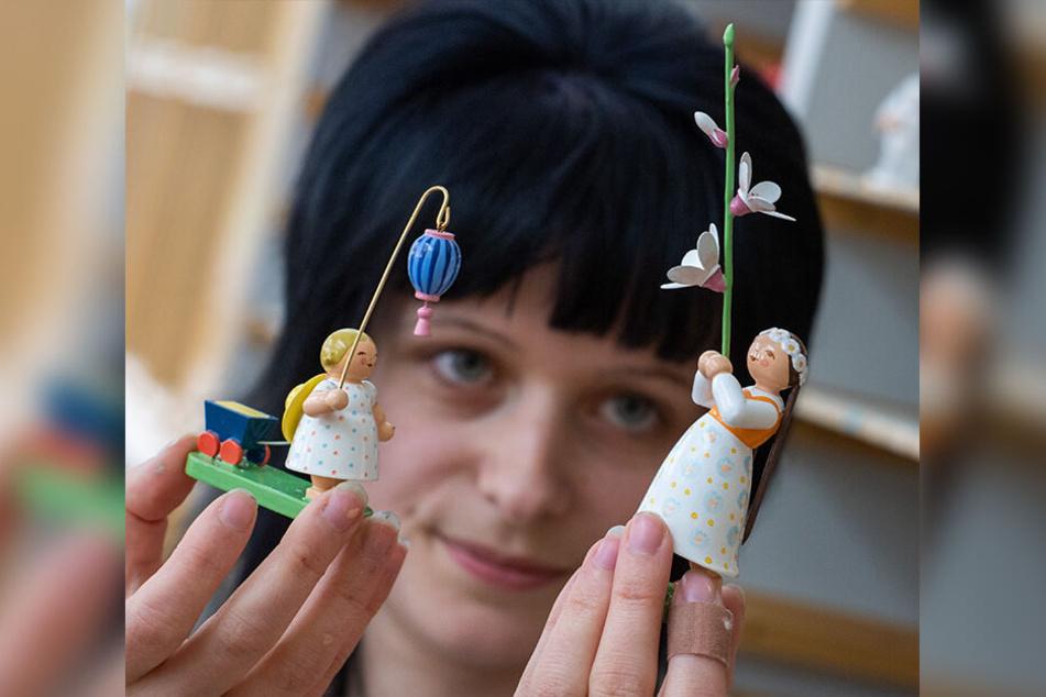 Elisa Pflug (27) tauscht am Sonntag Blumenkinder gegen Flugtickets.