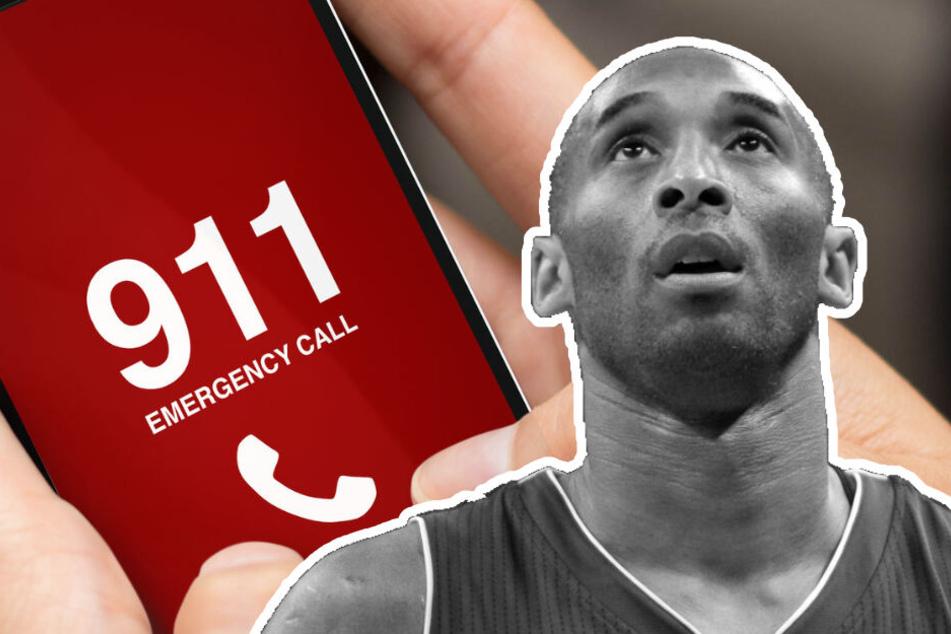 Kobe Bryant: Dramatische Notrufe veröffentlicht