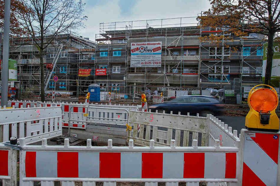 Auch die Nachfrage der noch nicht fertiggestellten Wohnungen an Stadtheider Straße ist riesig.