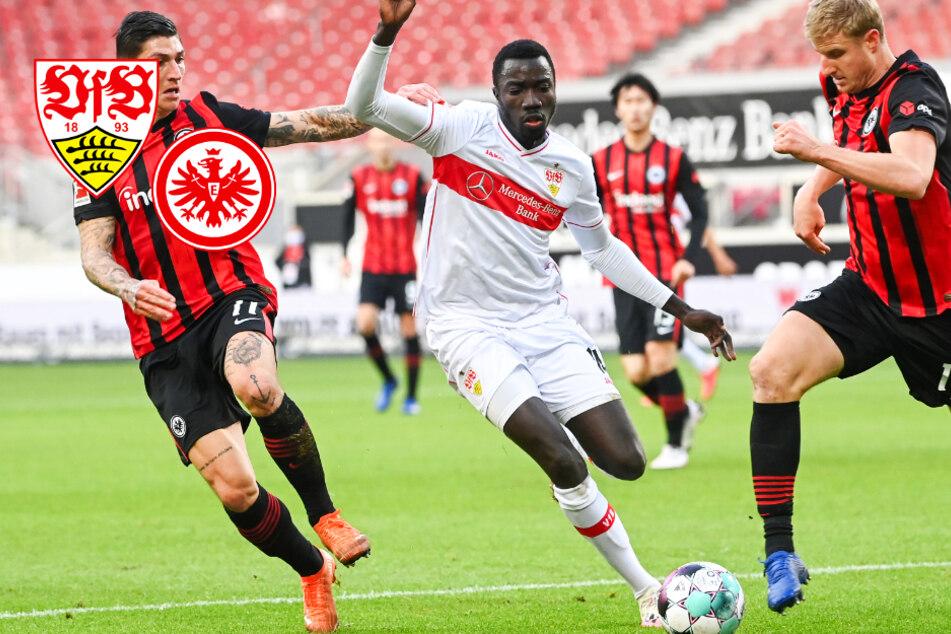 VfB gibt gegen Frankfurt in wildem Spiel 2:0-Führung aus der Hand!