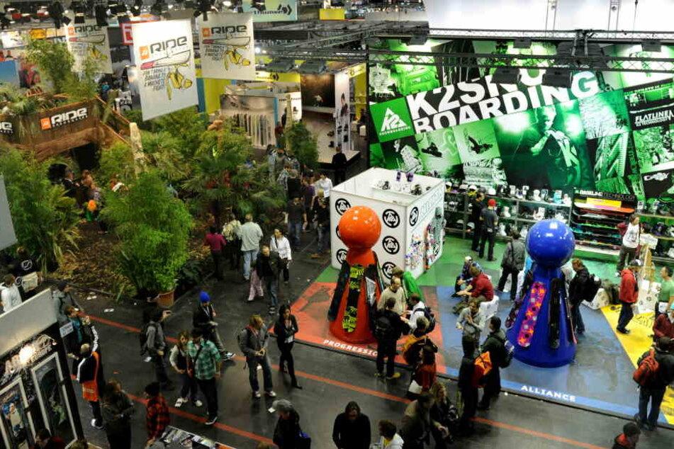 Die Ispo gilt als größte Fachmesse für Sportartikel, zusätzlich zur Münchner Messe gibt es Standorte in der ganzen Welt. (Archivbild)