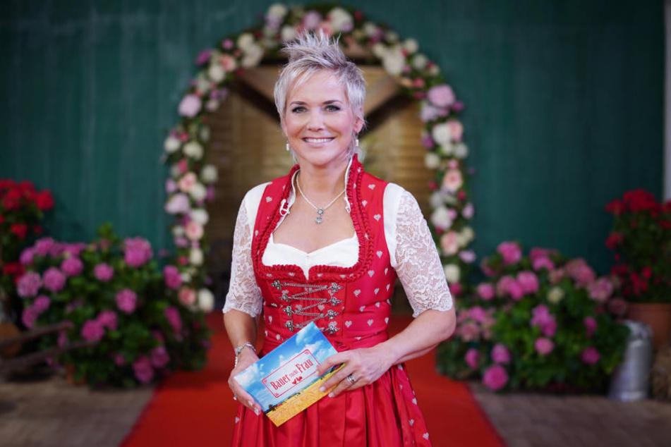"""Ist auch nach 13 Jahren """"Bauer sucht Frau"""" noch Single: Moderatorin Inka Bause (49)."""