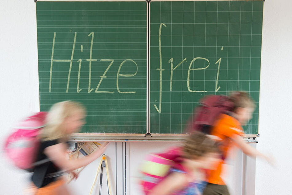 Hitzefrei: Bereits im Mai durften sich Dresdens Schüler über verkürzten Unterricht freuen.