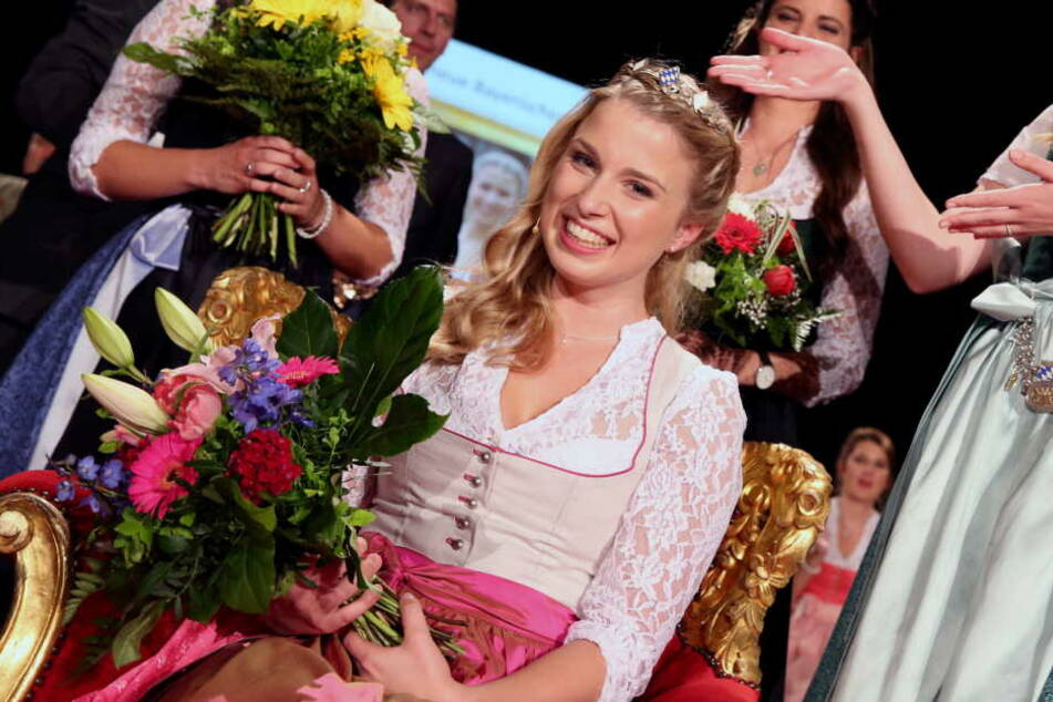 Bierkönigin 2016, Sabine-Anna Ullrich, ist quasi Nachbarin von Patrick Karch. (Archivbild)