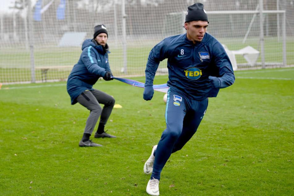 Karim Rekik arbeitet hart für sein Comeback in der Bundesliga.