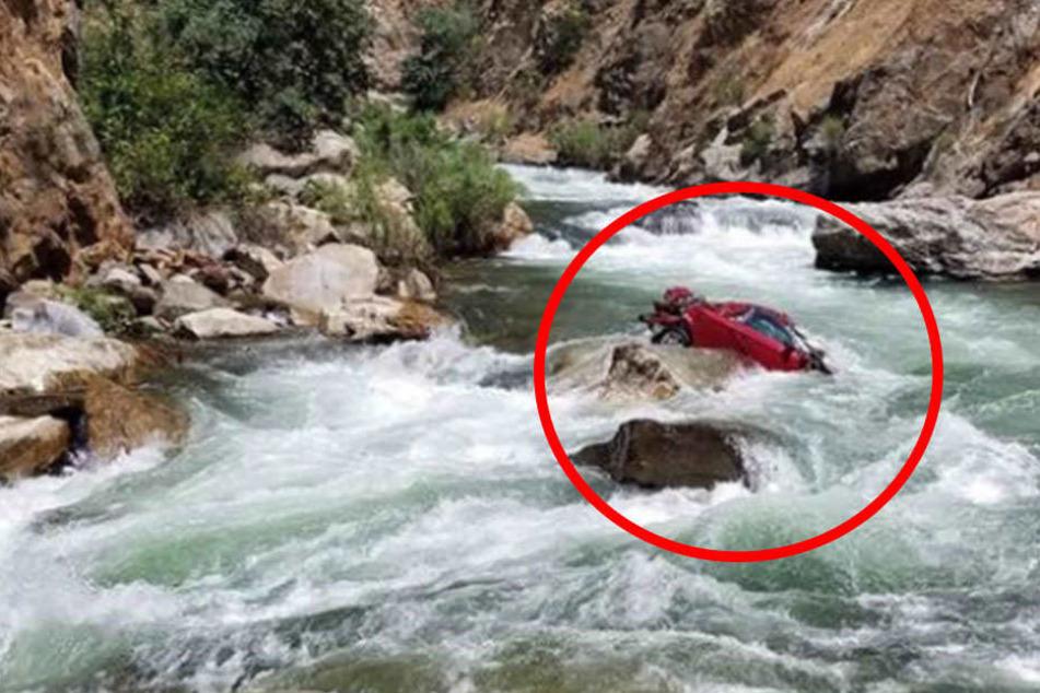 Auto mit Leichen in reißendem Fluss gefunden! Waren es Austausch-Studenten?