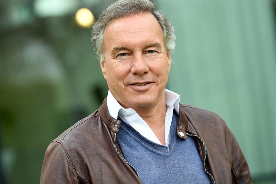 Intendant und Filmproduzent Nico Hofmann am Rande der Pressekonferenz zu den Nibelungen-Festspielen in Worms.