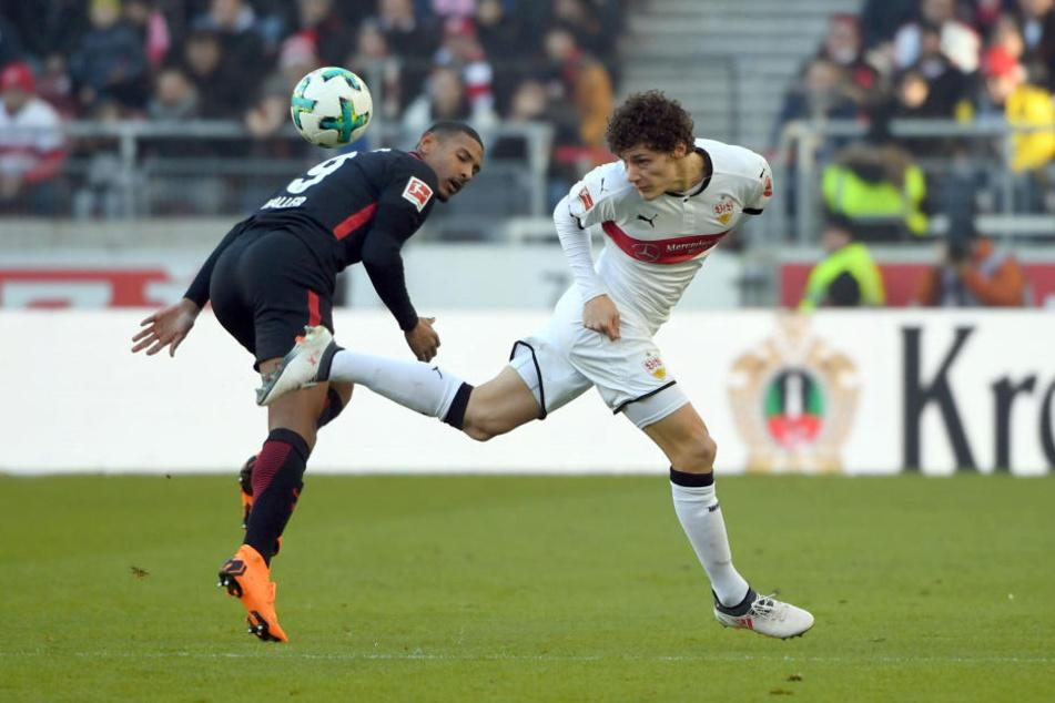 Die Niederlage in Stuttgart war ein herber Rückschlag für die europäischen Ambitionen der Eintracht.