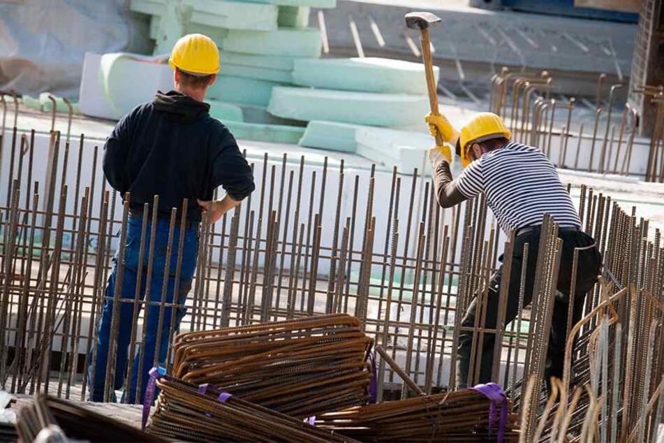 Bauarbeiter sind Mangelware. Chemnitzer Baufirmen können offene Stellen nicht mehr besetzen.