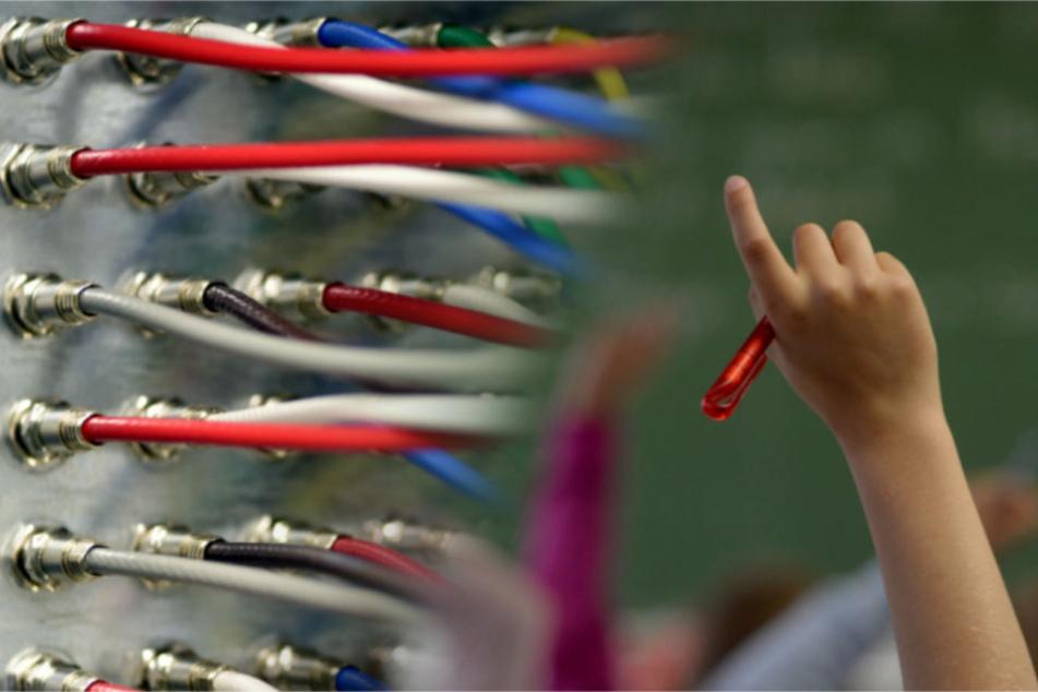 Ob schnelles Internet oder Tablets in Klassenzimmern: In Stuttgarts Schulen gibt es ordentlich Luft nach oben. (Bildmontage)
