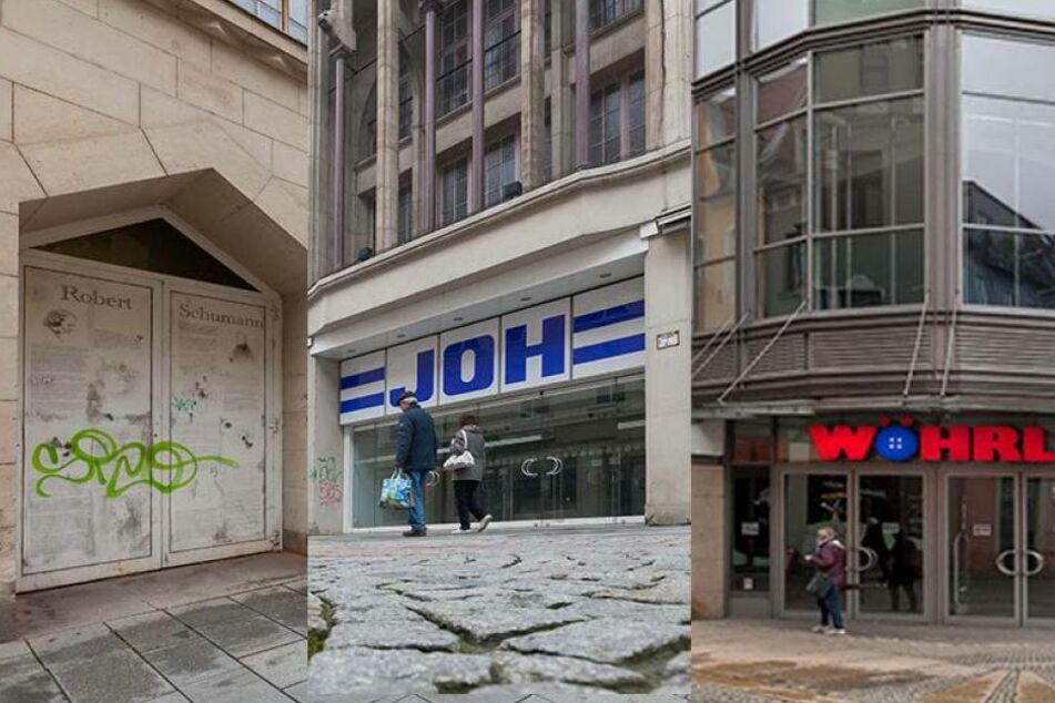 Was ist bloß in Zwickau los? Schon drei Kaufhäuser stehen leer