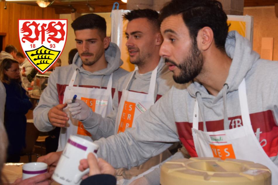 VfB Stuttgart gibt Essen und Trinken für Bedürftige aus