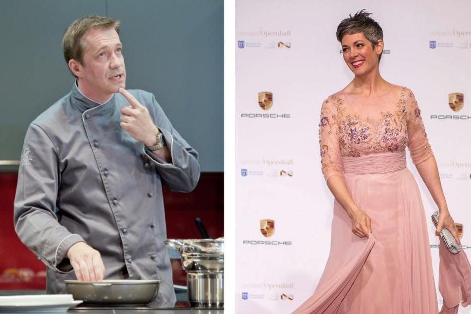 """Weitere Gäste: Sternekoch Alexander Herrmann (47) und """"Rote Rosen""""-Star Cheryl Shepard (52)."""