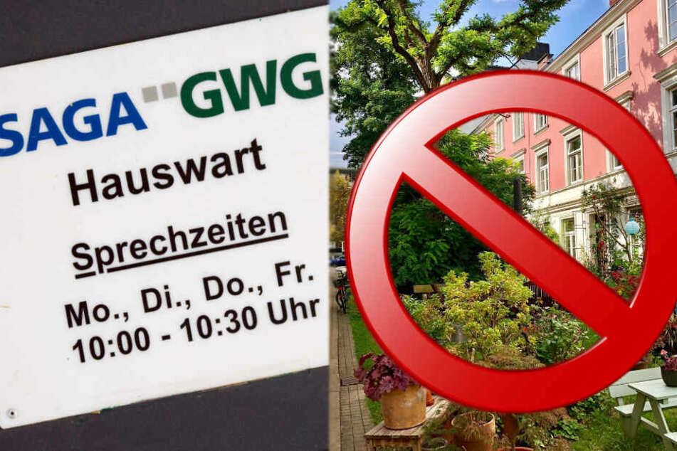 Saga-Bewohner empört: Müssen die grünen Falkenried-Terrassen jetzt komplett weg?