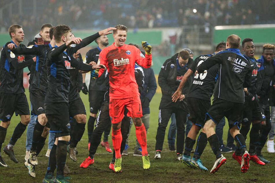 Der SC Paderborn hatte zum Abschluss des Jahres allen Grund zum Jubeln.