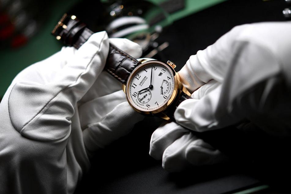 Die Entwicklung der Uhrenindustrie in Glashütte war eine Folge des Bergbaus, beim Welterbeantrag spielt sie nun keine Rolle mehr.