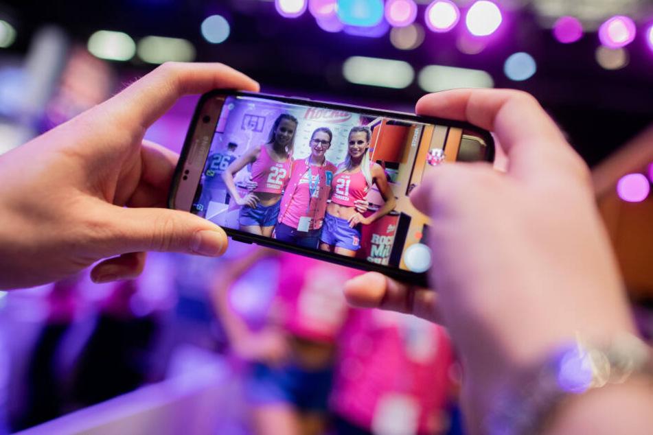 Fotos mit Fitness-Promis und Influencern sind begehrt.